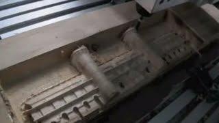 Kundenanwendung Tutorial: 3D Fräsen von Holz MDF - Burgfront Modellbau