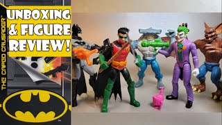 "Spin Master DC Batman 4"" Figures review"