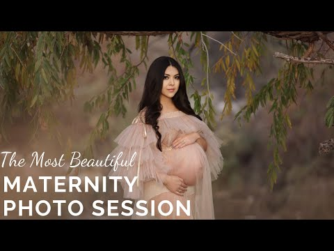 maternity photography session by mbf photography studio