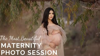Maternity Photography - Photo Session On Location