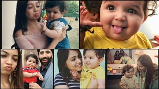Nazar Serial cute Munna playing with starcast