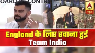 World Cup 2019: Team India Leaves For England | ABP News