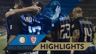 INTER-CAGLIARI 2-0   HIGHLIGHTS   Matchday 07 - Serie A TIM 2018/19