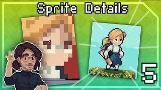 Pixel Art Class 5 - Character Sprite Details