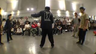 日本体育大学【Funka Beat Squad】 vs 横浜市立大学【Navy】 BEST8 / DANCE@LIVE 2017 RIZE KANTO CLIMAX