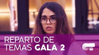 REPARTO DE TEMAS GALA 3 | OT 2020