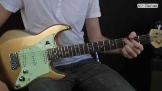 """A New Day Yesterday"" - Joe Bonamassa Gitarren Tutorial"
