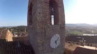 preview picture of video 'Montepescali - Grosseto - Tuscany - Vista dal Drone'