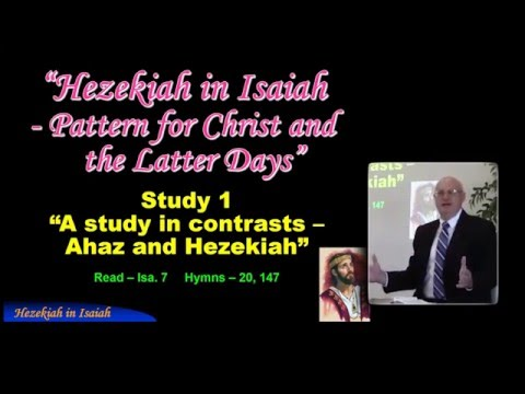 Signs of The Times Hezekiah in Isaiah