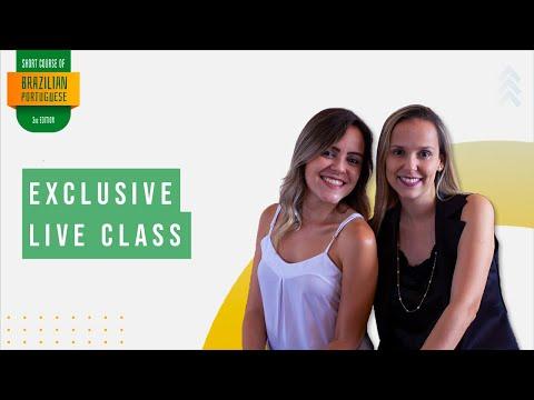 Exclusive Live Class - Short Course of Brazilian Portuguese ...