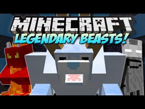 Minecraft | LEGENDARY BEASTS! (5 New Bosses!) | Mod Showcase [1.5.1]
