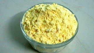 How To Make Besan At Home | Homemade Besan/Gram flour | Khushboocooks