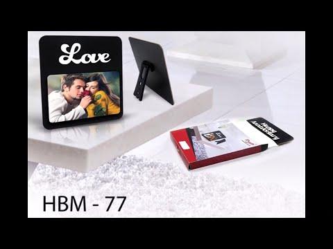 HBM - 77 Wooden Sublimatable Title Plaques