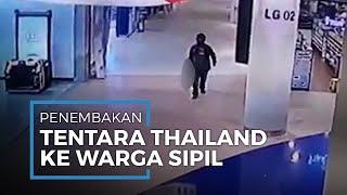 Tersangka Penembakan Warga Sipil di Thailand, Tewaskan 20 Orang di Pusat Perbelanjaan Thailand