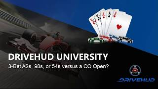Which hand is the better 3-bet on the button? A2s, 98s, or 54s?
