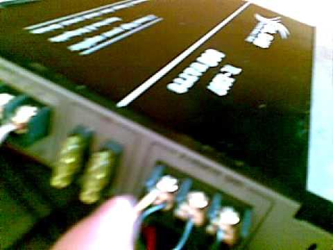 Akt połączenia licznik elektryczny