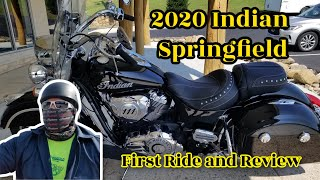 2020 Indian Springfield First Ride And Review