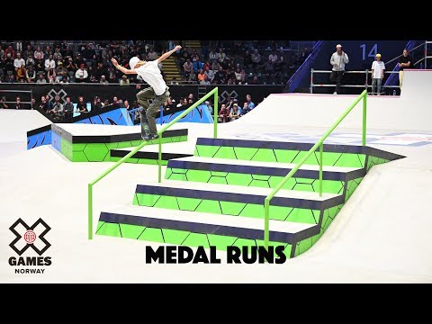 MEDAL RUNS: Women's Skateboard Street | X Games Norway 2019