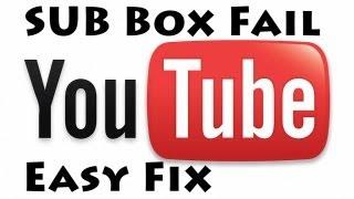 SUB BOX FAIL - EASY FIX