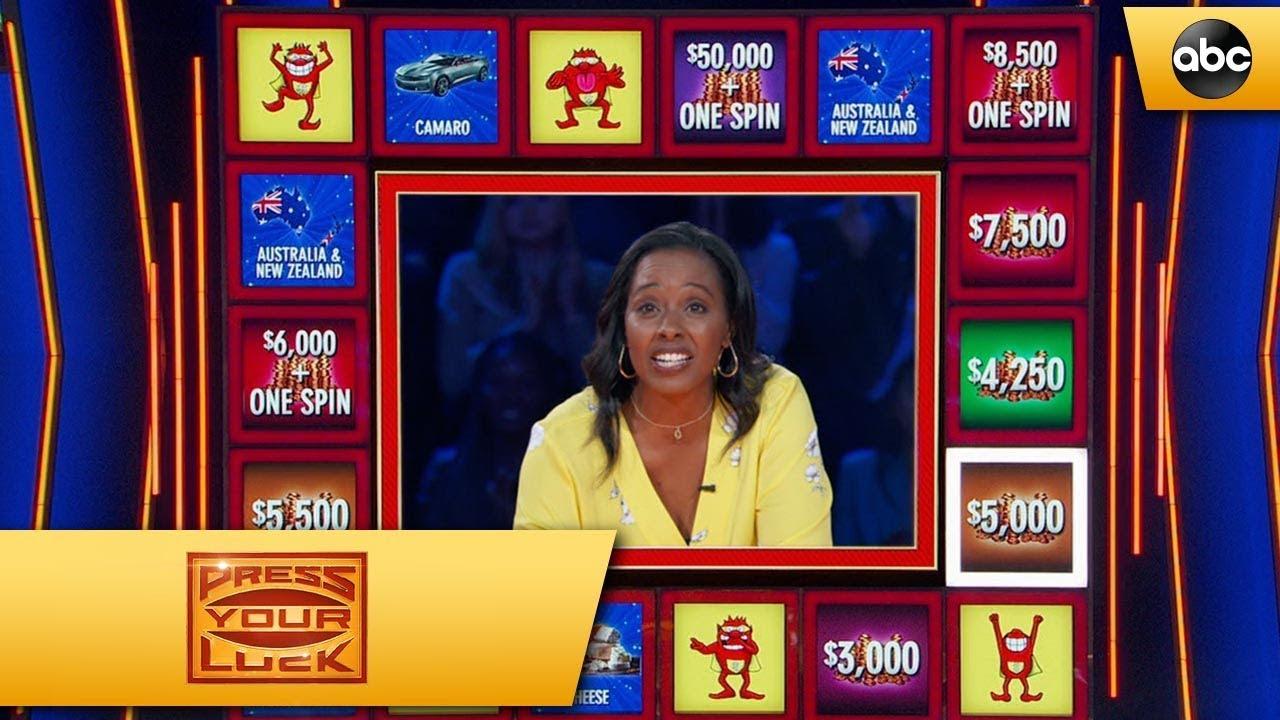Janelle's Bonus Round – Press Your Luck