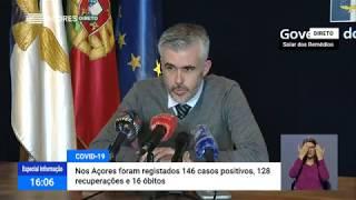 02/06: Ponto de Situação da Autoridade de Saúde Regional sobre o Coronavírus nos Açores