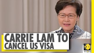 Carrie Lam to cancel her U.S. visa over sanctions - Download this Video in MP3, M4A, WEBM, MP4, 3GP