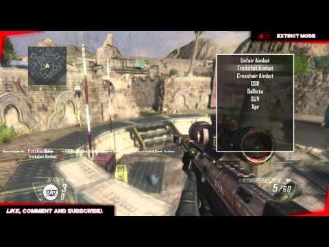 Black Ops 2 GSC Mod Menu - HostOnly Trickshot Menu - PS3 (1 19
