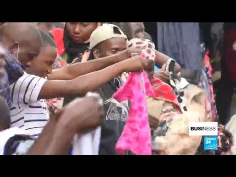 Rwanda's second-hand clothing market suffering under new import tariffs