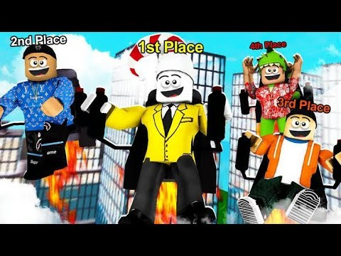 I Hosted A Massive Jet Pack Race In Roblox Mad City