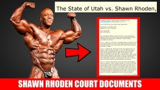 Shawn Rhoden Court Documents and Details of the Case