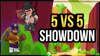 5v5! 5 El Primo Vs 5 Bull?! And More 5vs5! [Brawl Stars]
