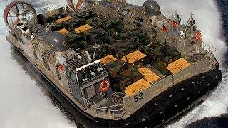 """高大威猛的""""海上野牛"""" 坦克战车通通轻松装运 毫无防护装甲"""