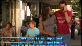堪萨斯大学:一所给力的大学KU: A Great Place to be!