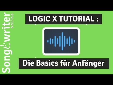 Logic X Tutorial deutsch Teil 01 –  Basics für Einsteiger