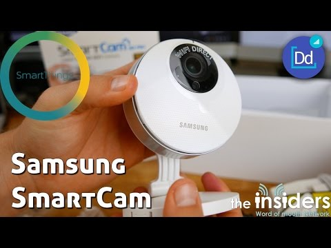 Samsung Smart Cam HD Pro for SmartThings in 4K