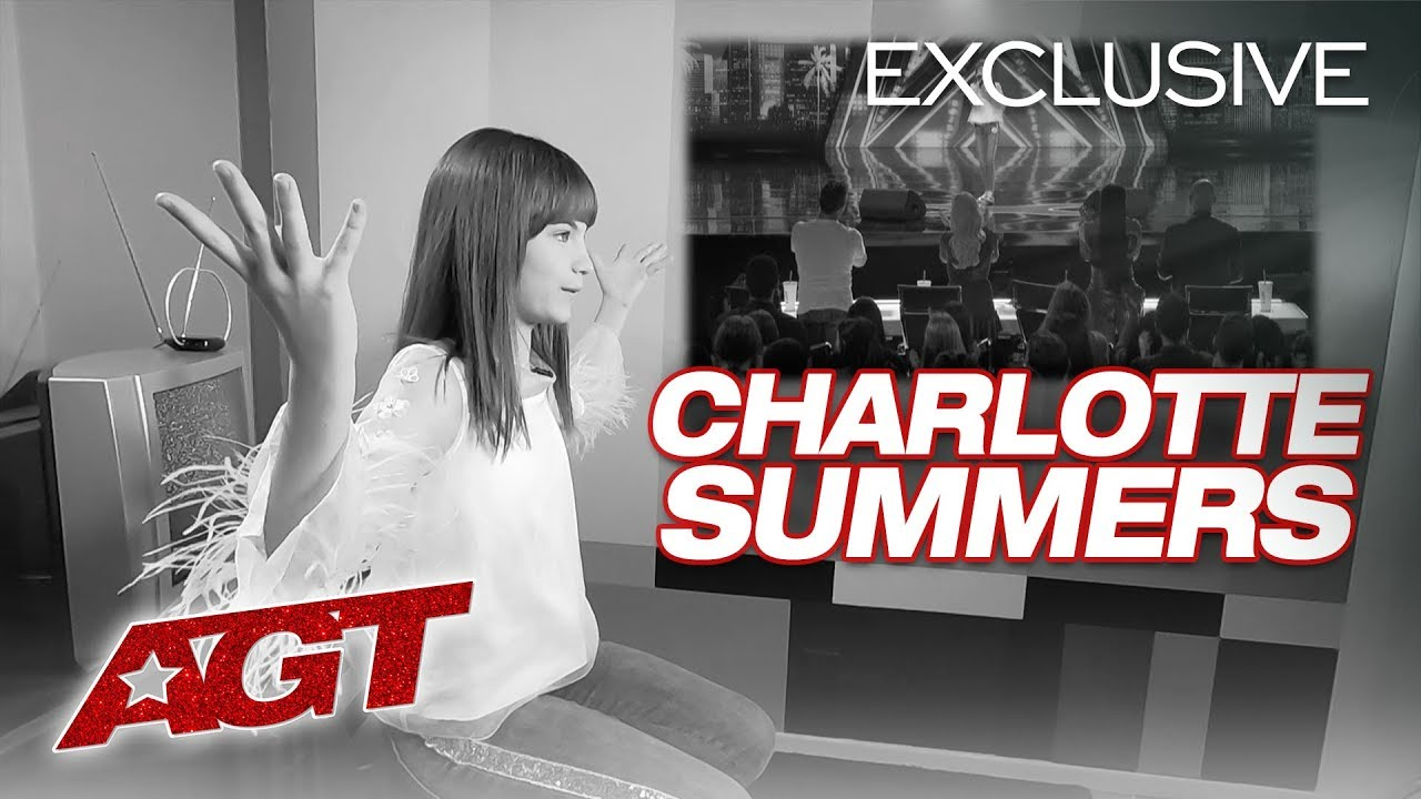 Singer Charlotte Summers Tells Us Why AGT Is A Dream Come True! - America's Got Talent 2019 thumbnail