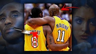 The TRUE Story of how Karl Malone BACK STABBED Kobe Bryant!