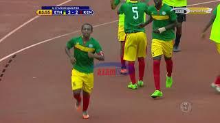 MAGOLI YOTE: ETHIOPIA 4-2 KENYA (CECAFA U17 AFCON QUALIFIER)