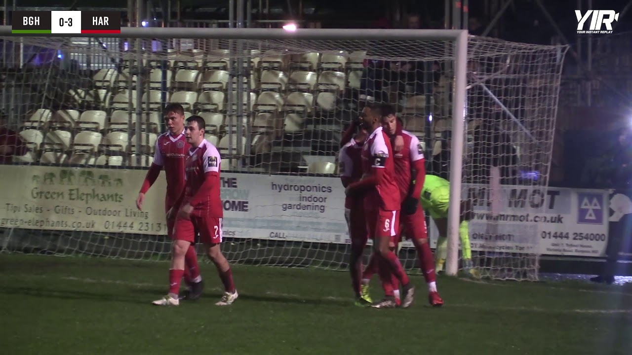 Highlights: BHTFC 1 Harlow Town 3