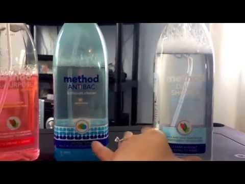 Non Toxic Method Cleaning Products Review!!