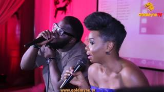 YEMI ALADE AND ISAAC GERALD'S PERFORMANCE AT BLAND2GLAM