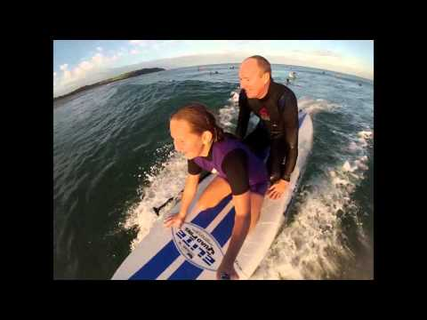 Tandem Sup surfing with daughter is awesome