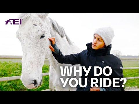 , title : 'The special Relationship between Horses & Humans - w/ Aurélie de Mévius | Horse Pilot - Pt. 1