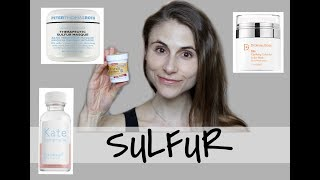 SULFUR MASKS AND LOTIONS FOR CLEAR SKIN  DR DRAY