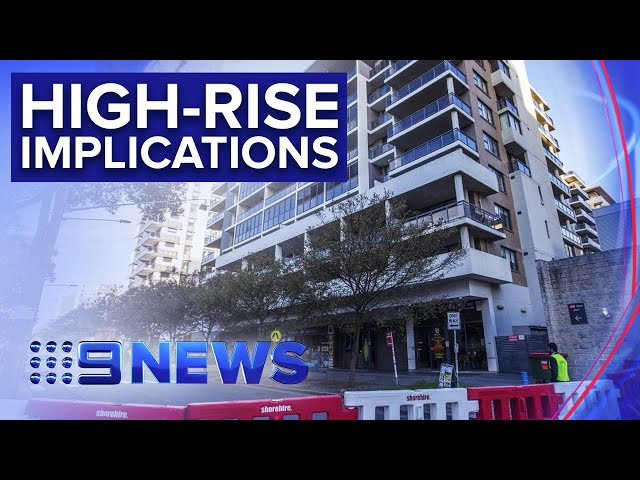 What Mascot Towers saga could mean for building industry | Nine News Australia