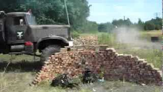 """Manewry ASG z ciężkim sprzętem   """"Tyrania 2 ,,Bitwa o Twierdzę Sevastopol"""" 4.08.2013"""""""