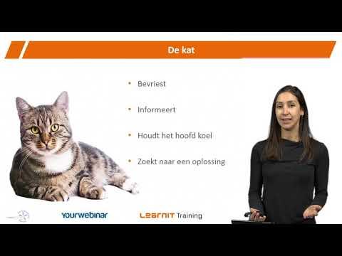 Webinar Hoe stel je een lastige klant tevreden Inspelen op klantbehoeften<br>Learnit Training