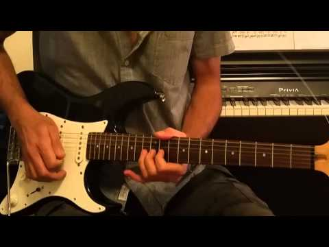This solo is one of my favorite guitar solos by David Gilmour. I hope you'll enjoy it and thanks for watching.