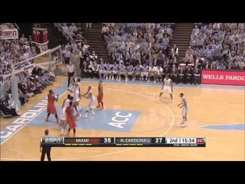 Video: North Carolina-Miami Game Highlights