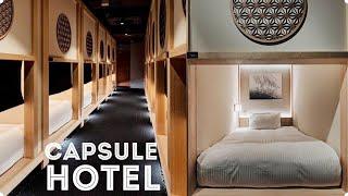 Tokyo's Most Beautiful Capsule Hotel